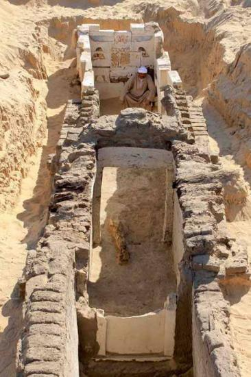 nouvelle decouvrte a Abydos