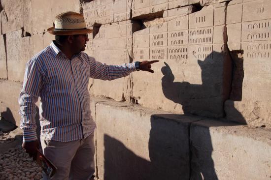 Le temple de Karnak-Louxor
