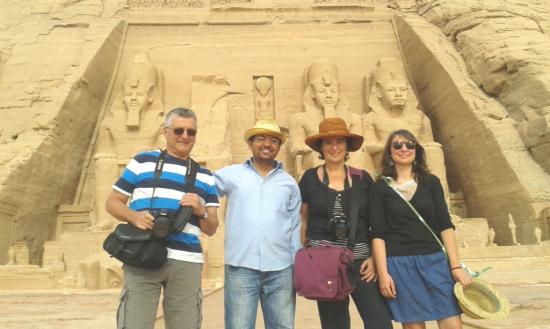 Temple abou simbel guide francophone